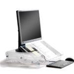 Monitorstandaard Q-riser 140 - Kabri Ergonomie