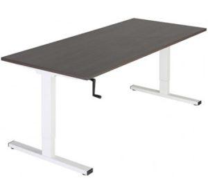 Verstelbaar bureau met slinger